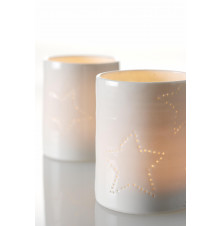 seam christmas candle cup