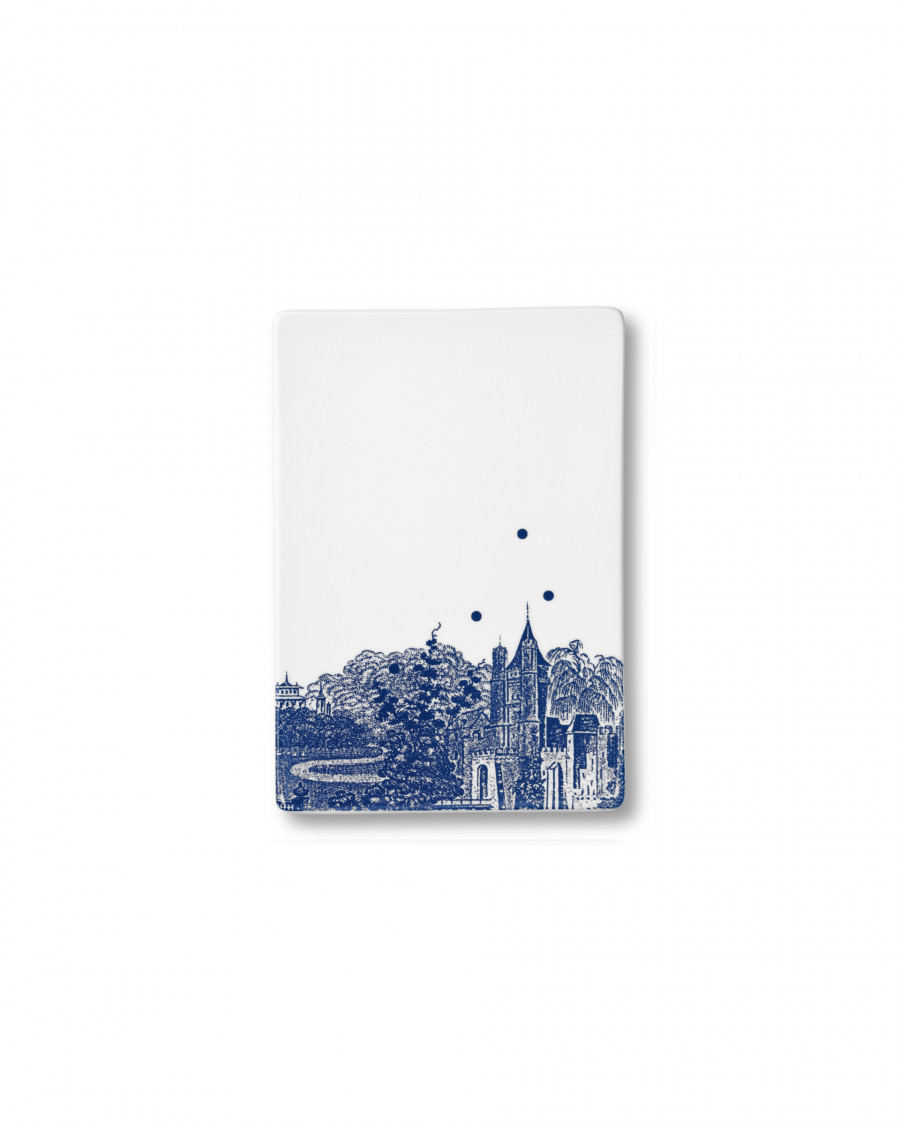 Ruth M tile landscape-blue small