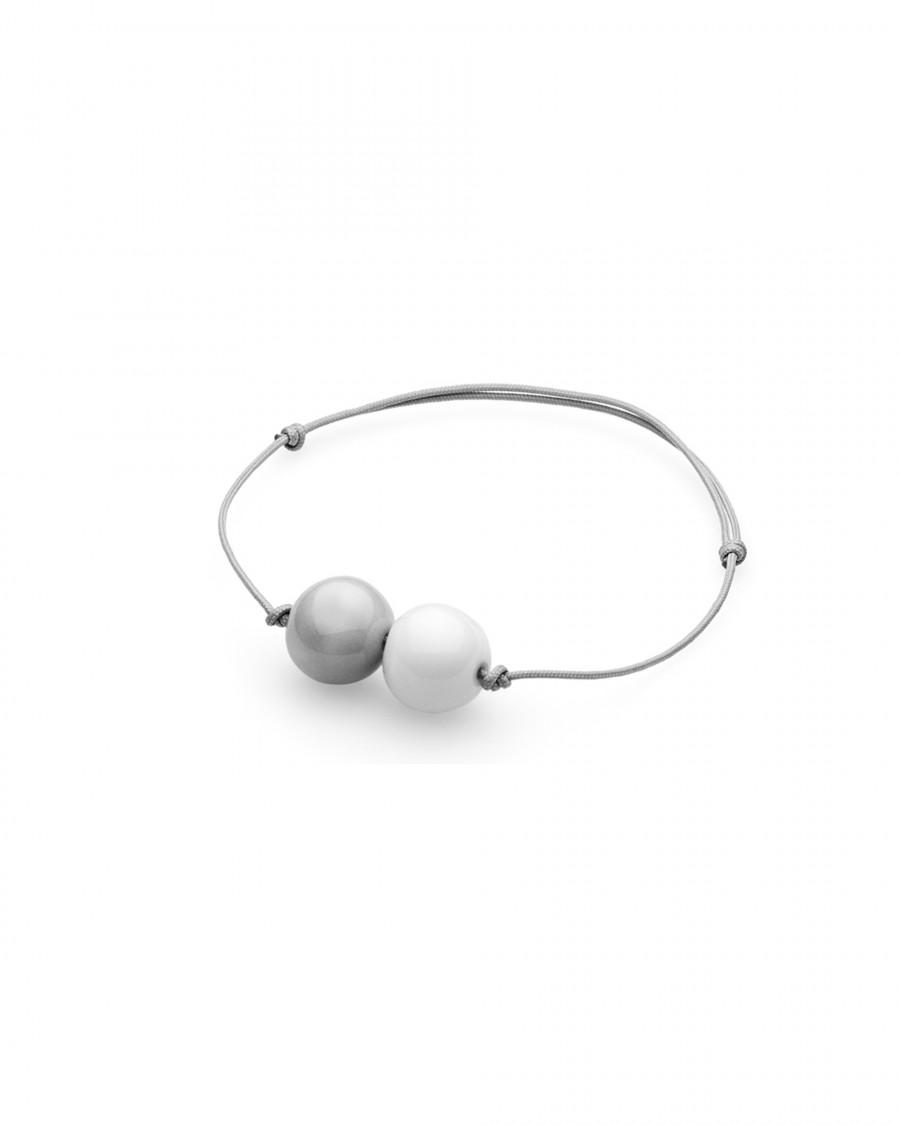 elements bracelet two pearls