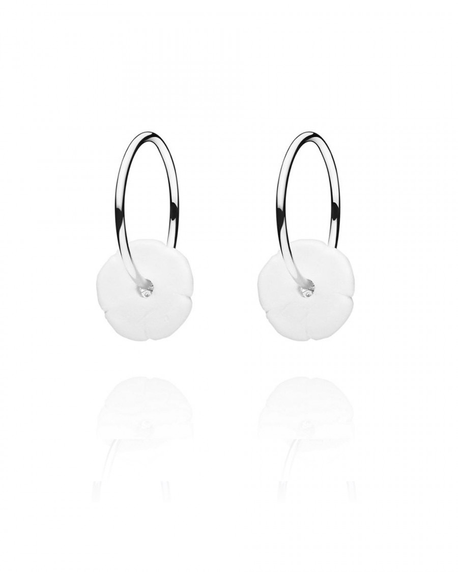 elements hoops silver