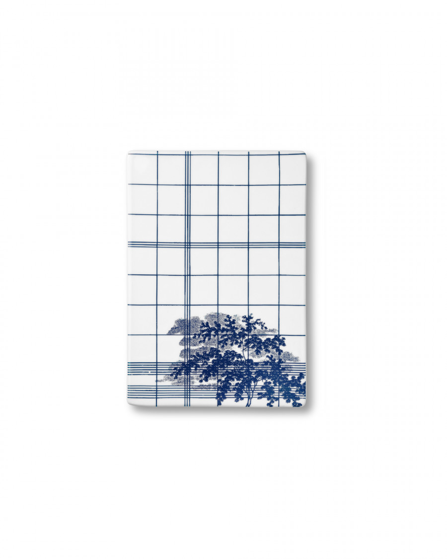 Ruth M tile square-blue small