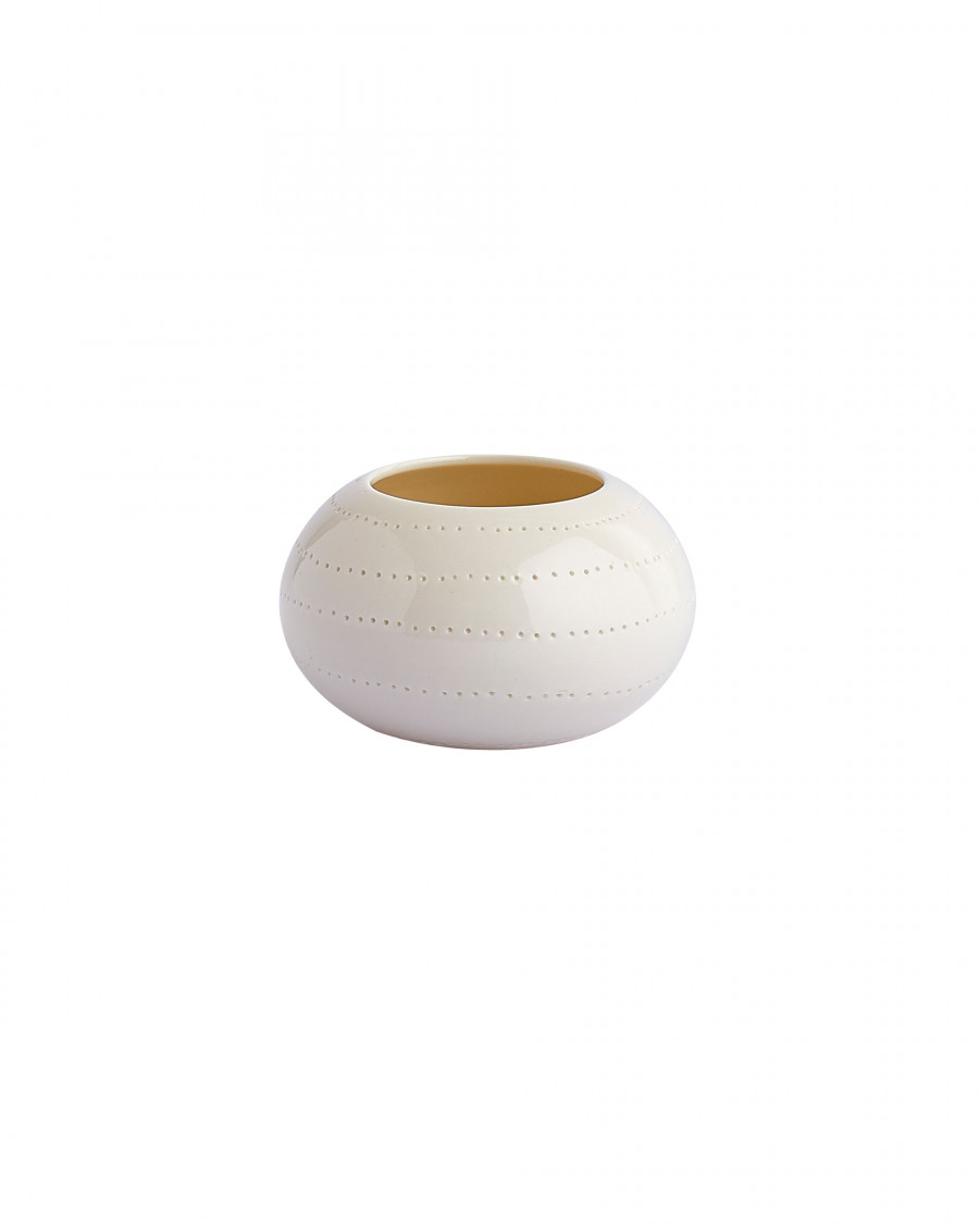 seam candle cup-white