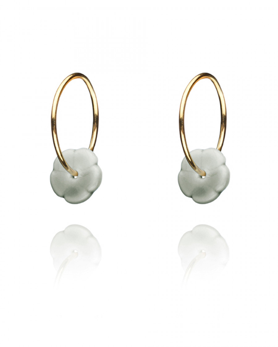 elements hoops gold