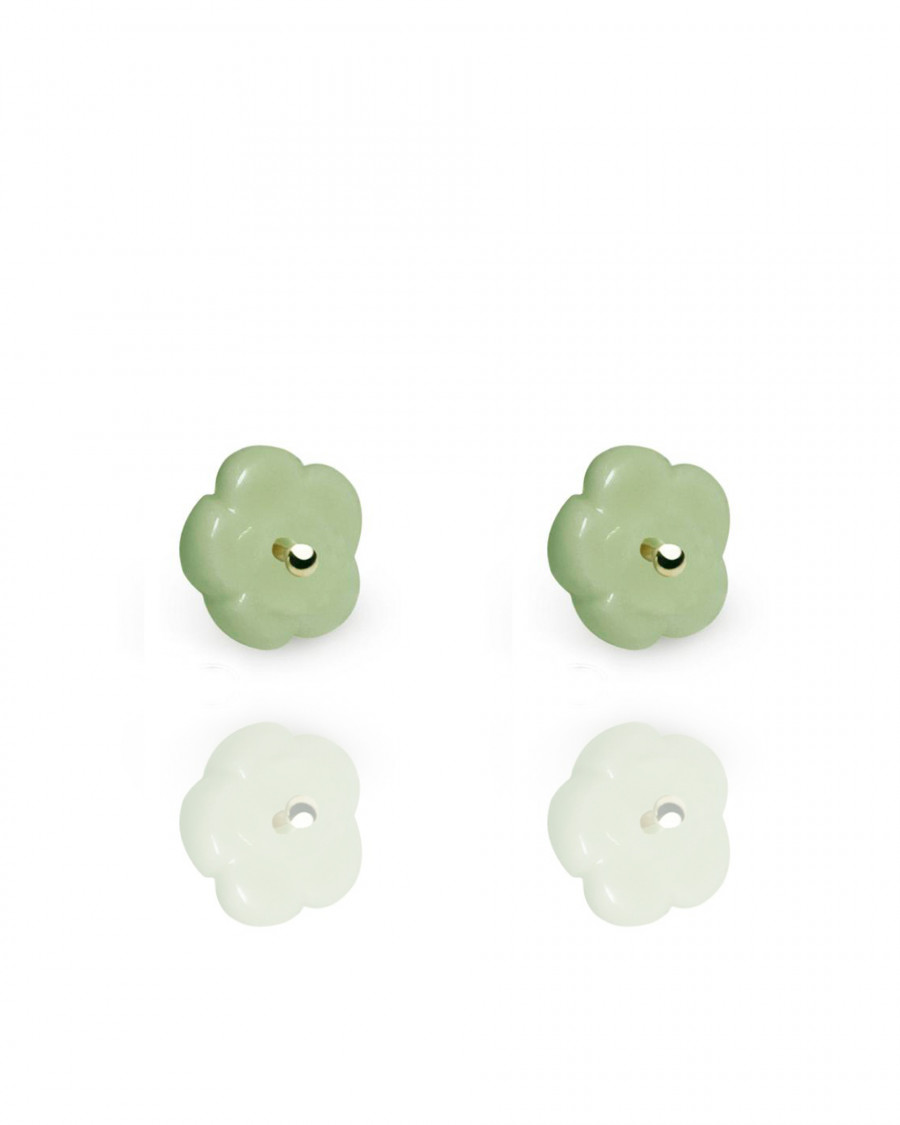 elements studs silver