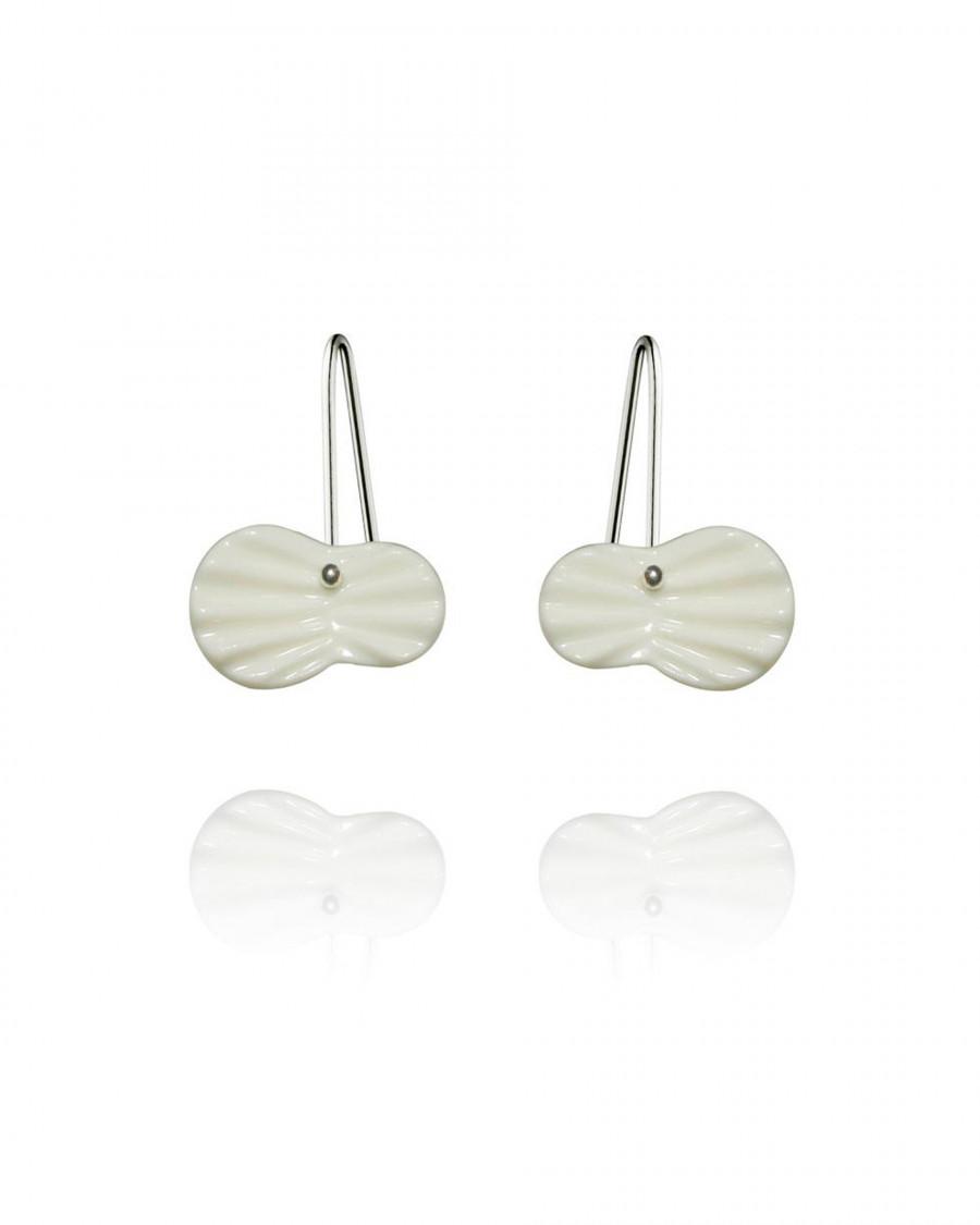 pleats pins silver-white
