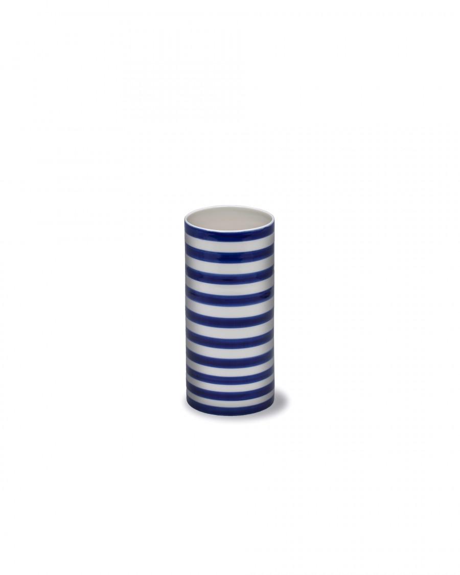 stripes vase wide
