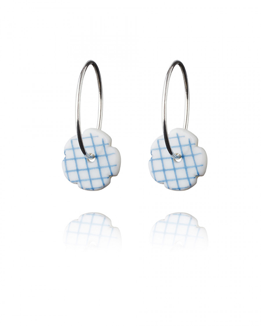 stripes hoops check-blue