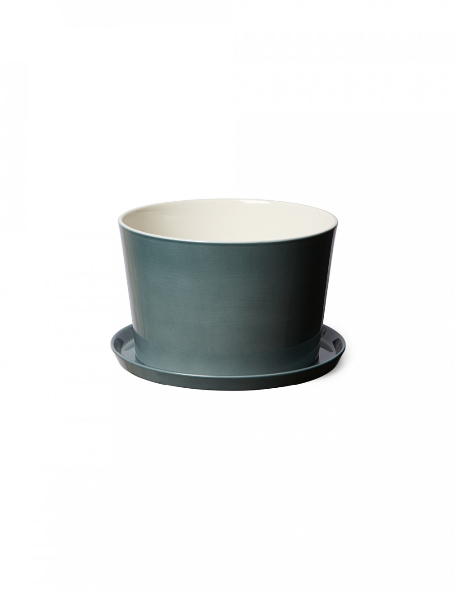 Bloom Flowerpot S with plate