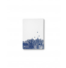 Ruth M tile landscape-blue small