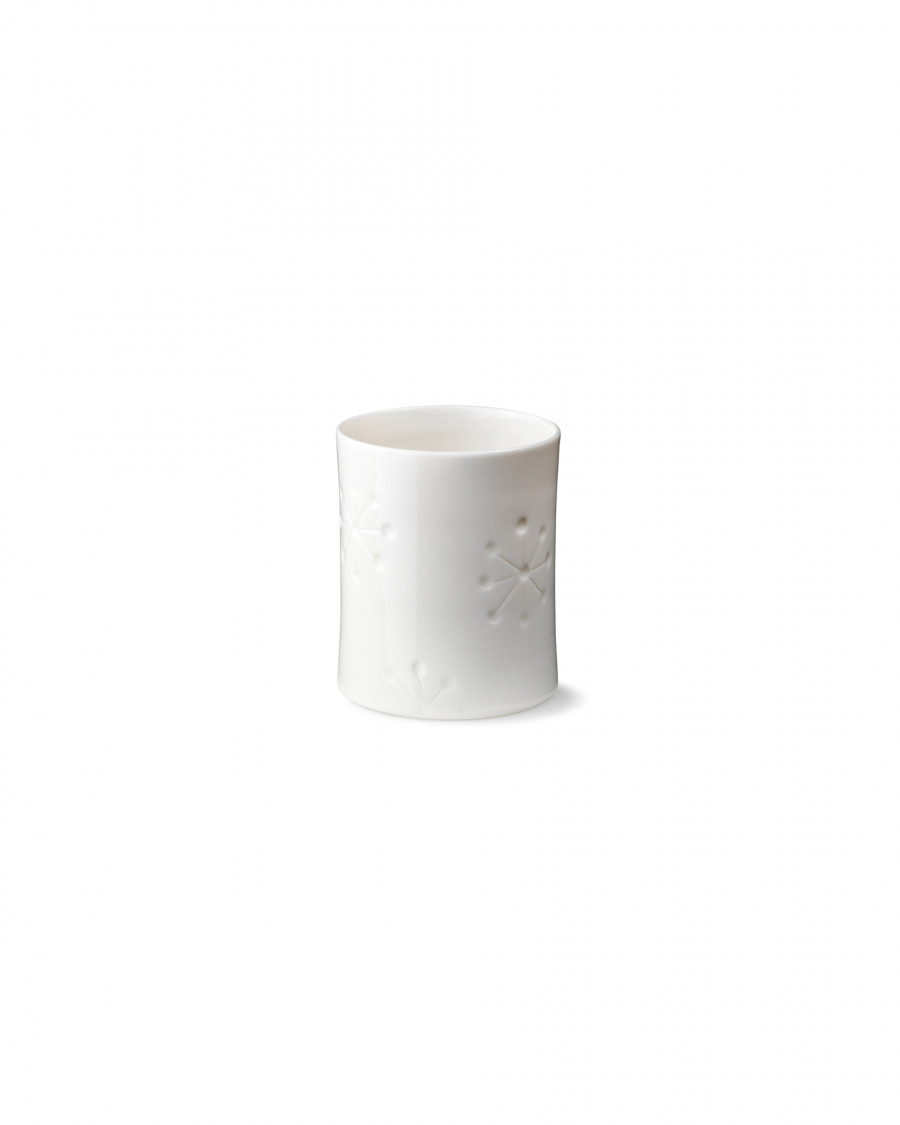 black is blue candle cup