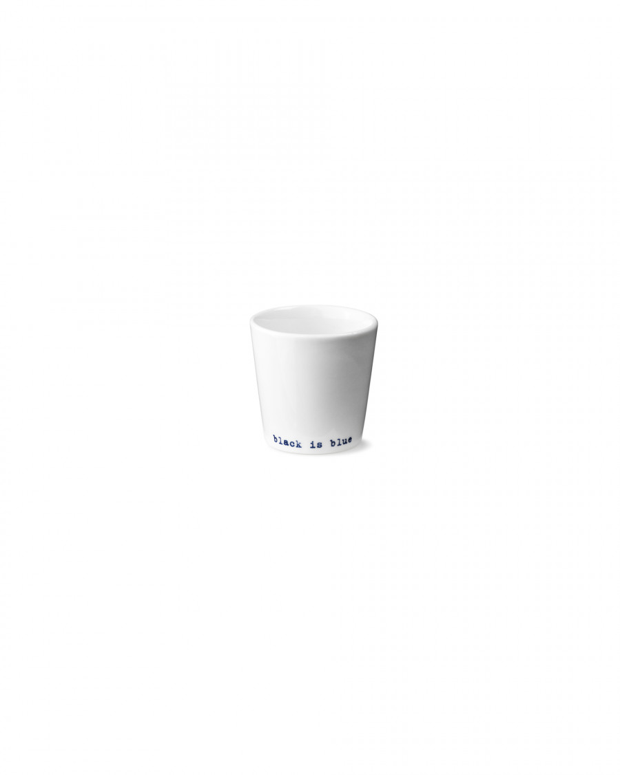 black is blue egg cup