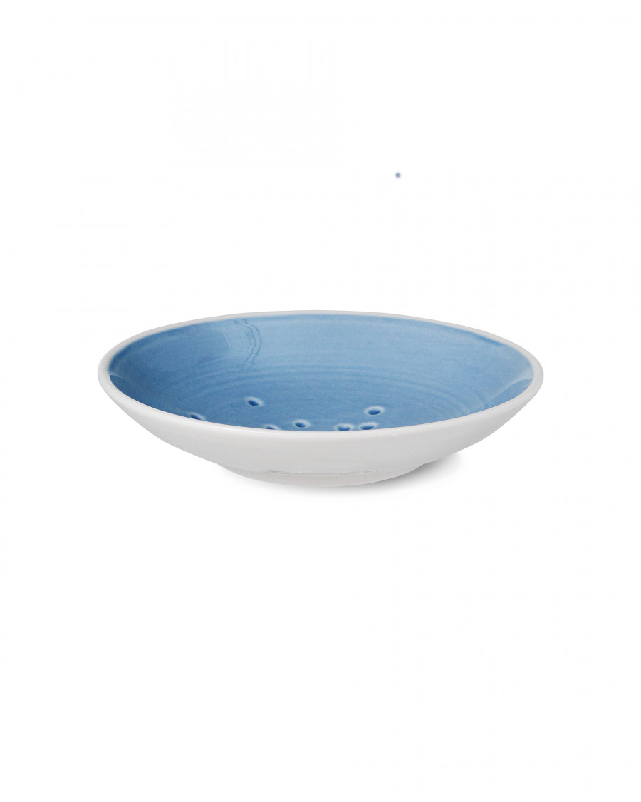 kyst plate-blue small