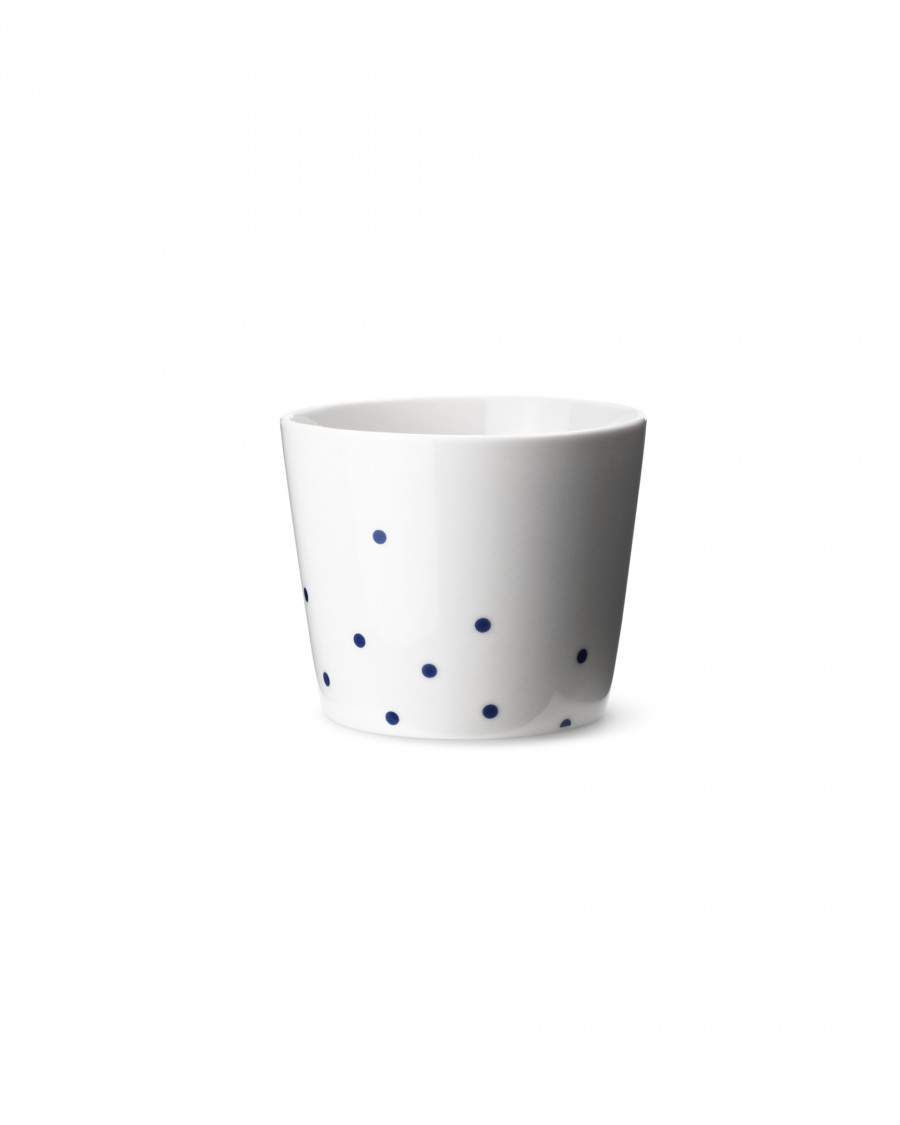Ruth M cup dot-blue