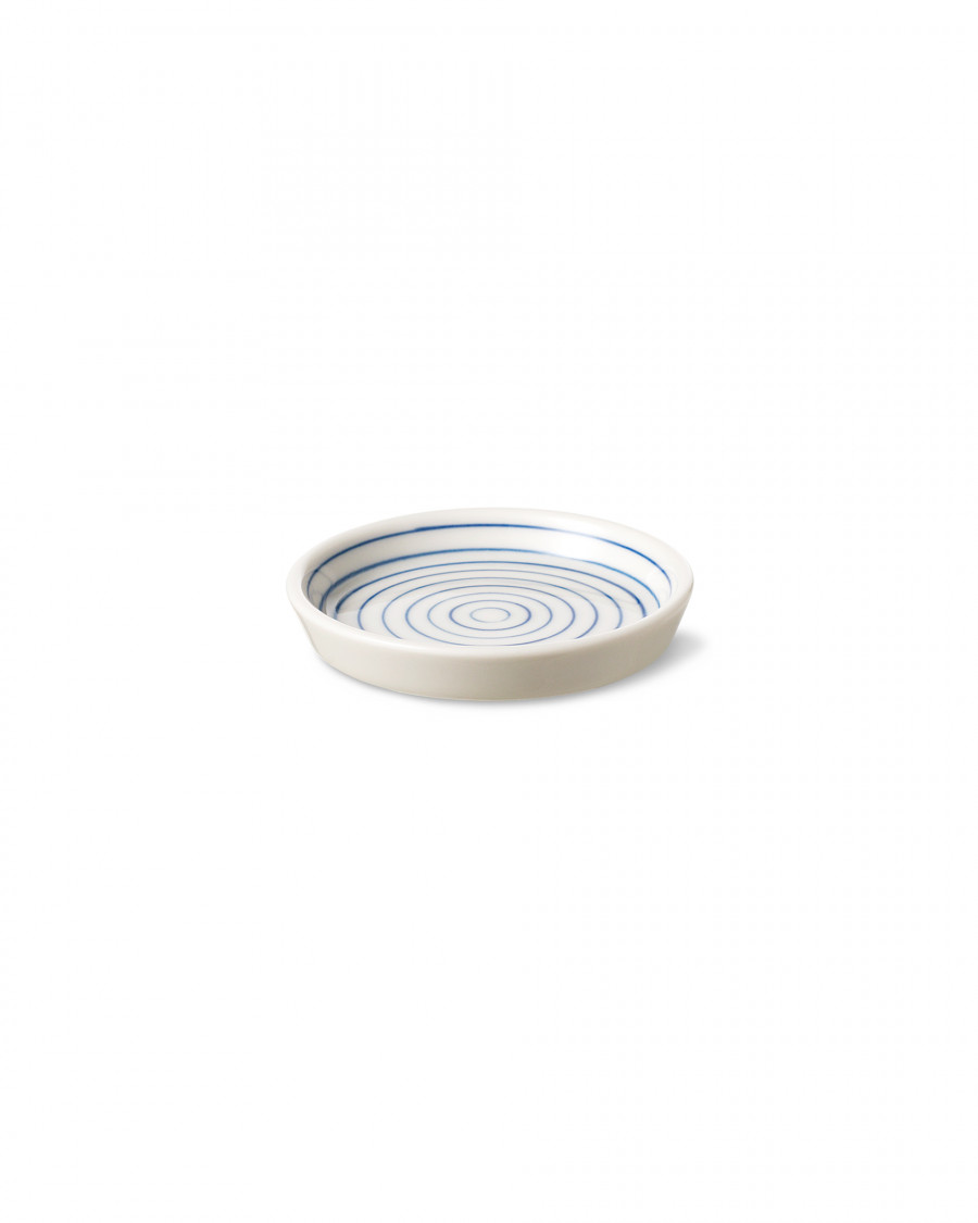 stripes plate mini narrow-blue