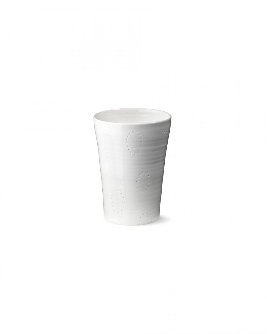 seam cup-white