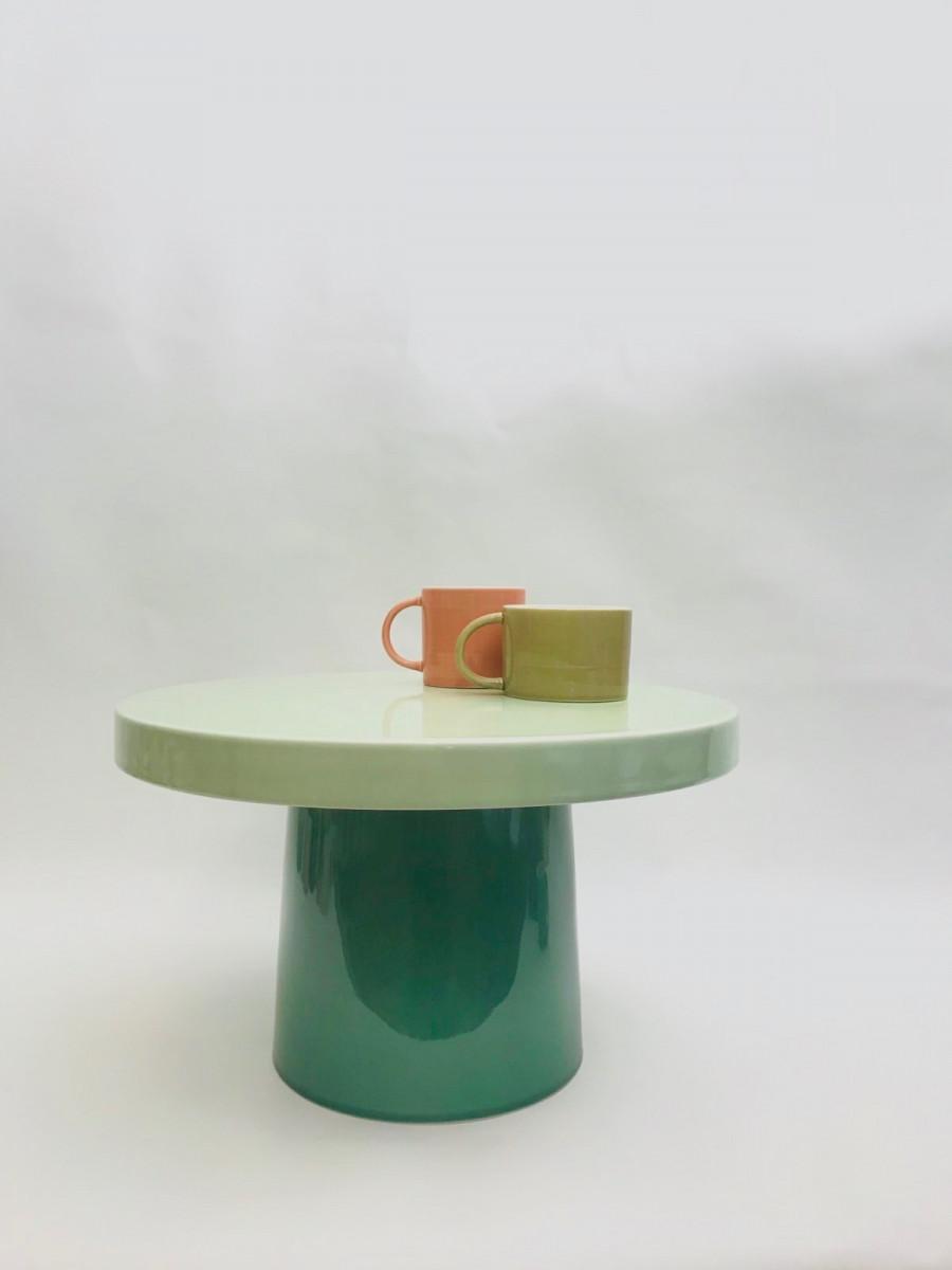 Porcelæns bord lav