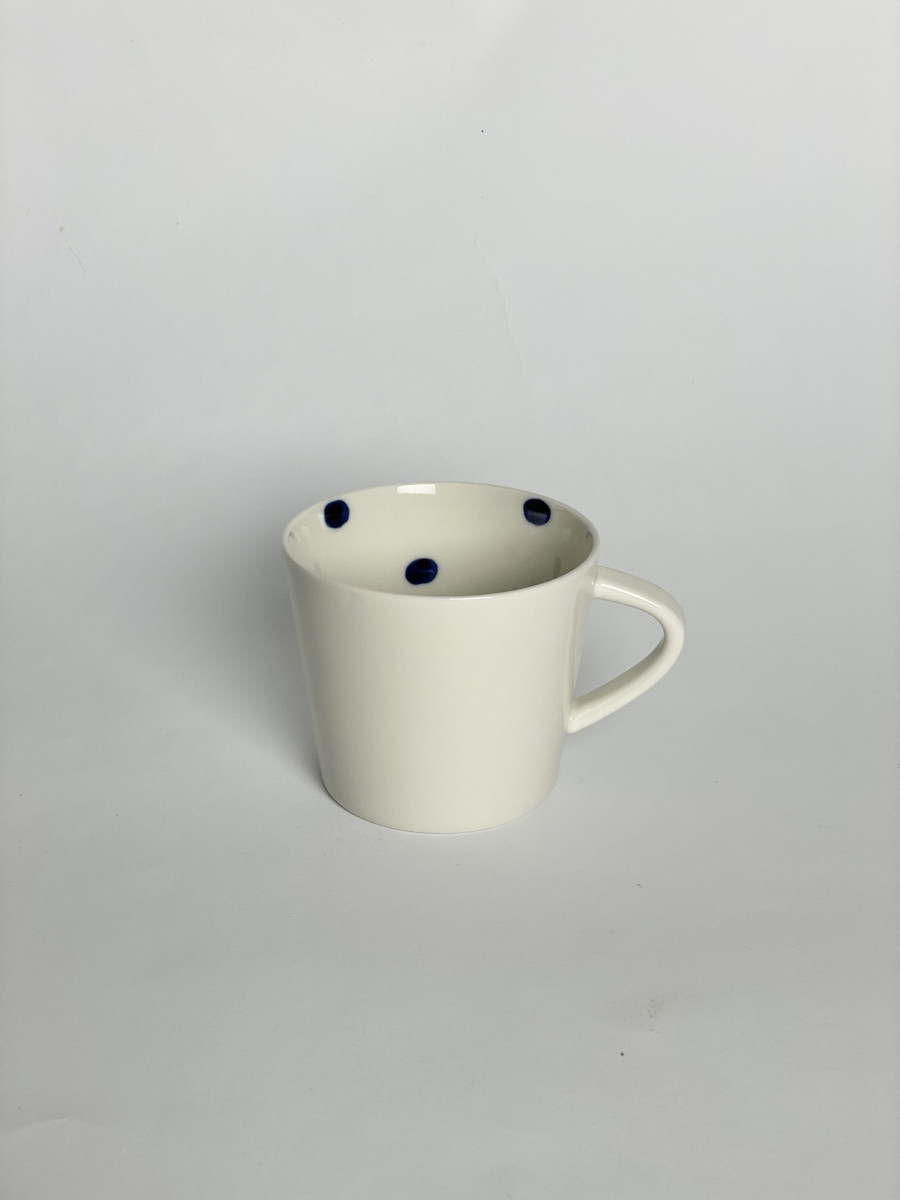 dot cup with handle-small
