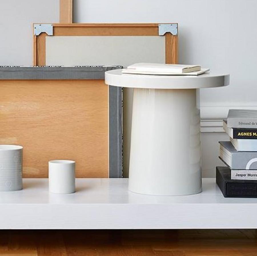 porcelæns bord høj